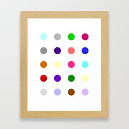 Cinolazepam Framed Art Print