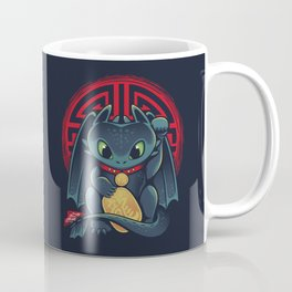 Maneki Dragon Coffee Mug