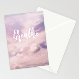 MANTRA SERIES: Breathe Stationery Cards