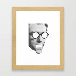 Who Am I? Framed Art Print