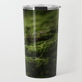 Moss Growing On A Tree Travel Mug