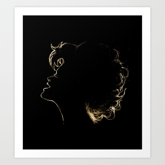 THAT ONE SONG Art Print
