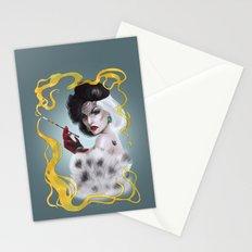 Cruella de Vil Stationery Cards