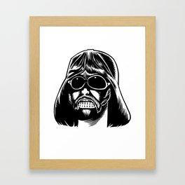 Darth Jesus Framed Art Print