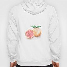Watercolour Grapefruit Hoody