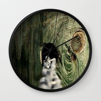 childish gambino Wall Clocks featuring Childish Memories by Living Waters Photography