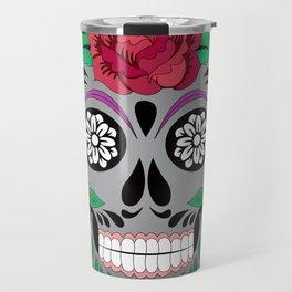 Hypster Skull Travel Mug