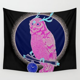 Eccentric Owl Wall Tapestry