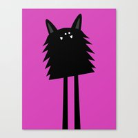 kevin russ Canvas Prints featuring Kevin by RubbishBooks