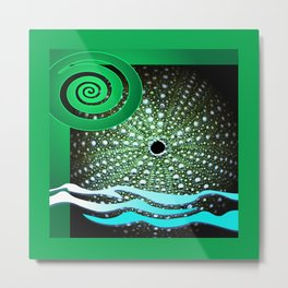 Sea Urchin - Kina Metal Print