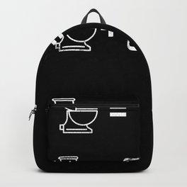 5 Minutes 55 Minutes Geschenk für Smartphone-Süchtiger Backpack