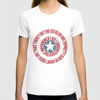 agents of shield T-shirts featuring Shield by Inbarigami