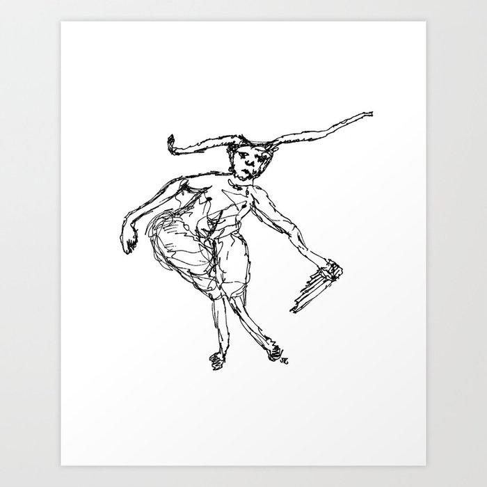 """""""A Sad Faun"""" Art Print"""