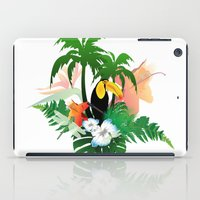 toucan iPad Cases featuring Toucan by nicky2342