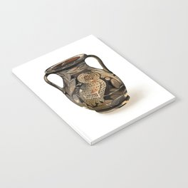 Greek Pelike with an Owl Notebook