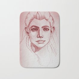 Aloy Red Bath Mat