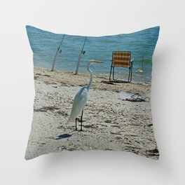 Mr. Persistence Throw Pillow