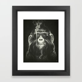 Smoke 'Em If You Got 'Em Framed Art Print