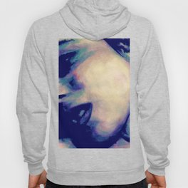 You're No Angel: Violet (sexy watercolor female portrait) Hoody