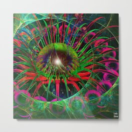 The humor is an analgesic, we use it when we have pain. Metal Print