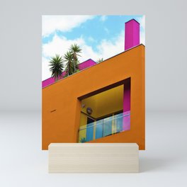 Slanted Orange Mini Art Print