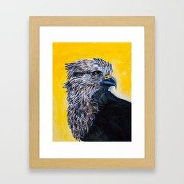 Fantasy Hawk Framed Art Print