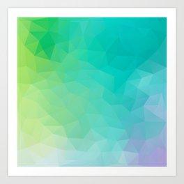 """Crystal clear water"" Art Print"