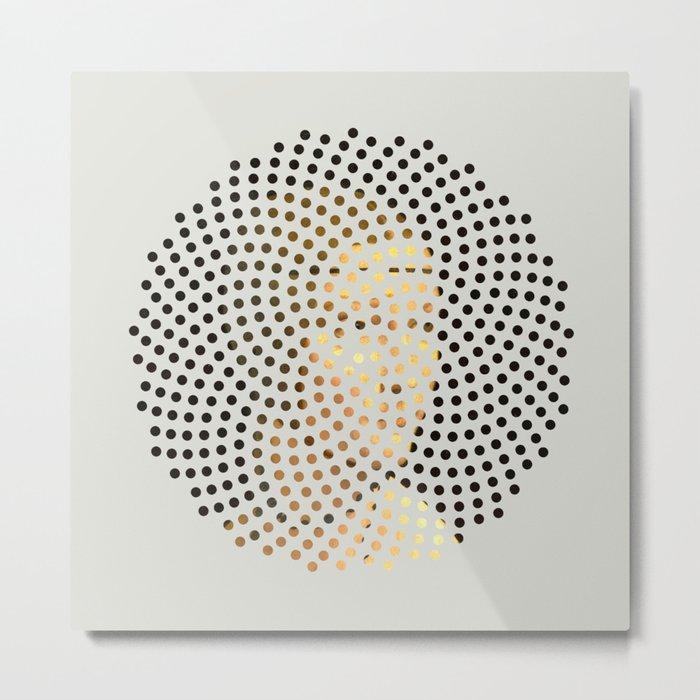 Optical Illusions - Famous Work of Art 5 Metal Print