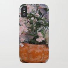 Flowers iPhone X Slim Case