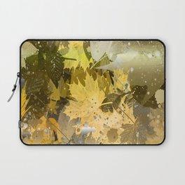Golden Leaves Laptop Sleeve
