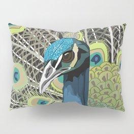 Hank the Peacock Pillow Sham