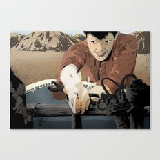 The Mechanic Canvas Print