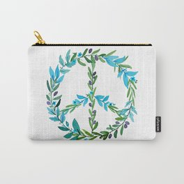Peace wreath Carry-All Pouch