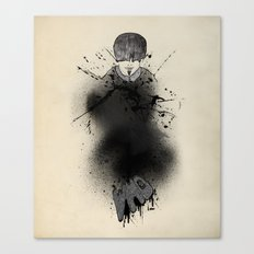 Style outside, man inside Canvas Print