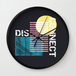 Disconnect Wall Clock