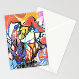 composition II - Digital Remastered Edition Stationery Cards