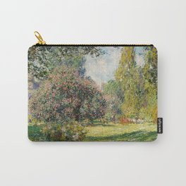 The Parc Monceau by Claude Monet Carry-All Pouch