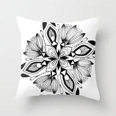Mandala III Throw Pillow