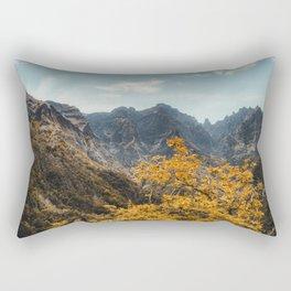 Fall in the mountains Rectangular Pillow