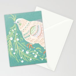 Holiday Dove Stationery Cards
