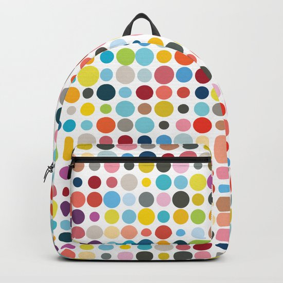 Tangled Up In Colour Backpack