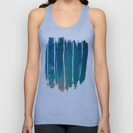 Desert Summer Milky Way Unisex Tank Top