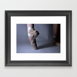Ballet-Pointe Framed Art Print