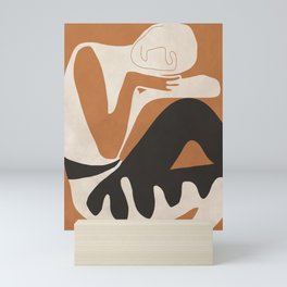 Abstract Art Figure Mini Art Print