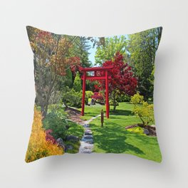 Eternal Tune Throw Pillow
