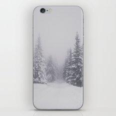 Winter walk iPhone & iPod Skin