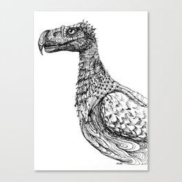Gaston's Bird Canvas Print