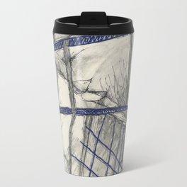 Intriguing Sketch Travel Mug