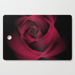 Abstract Rose Burgundy Passion Cutting Board