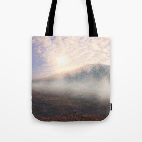 Pastel vibes 38 - Las Montañas Tote Bag